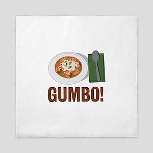 Gumbo Meal Queen Duvet