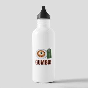 Gumbo Meal Water Bottle
