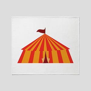 Big Tent Throw Blanket