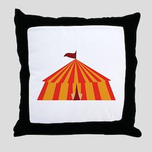 Big Tent Throw Pillow