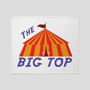 Big Top Throw Blanket