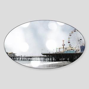 Grey Sparkling Pier Sticker