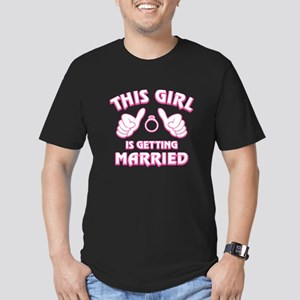 This Girl Getting Marr Men's Fitted T-Shirt (dark)