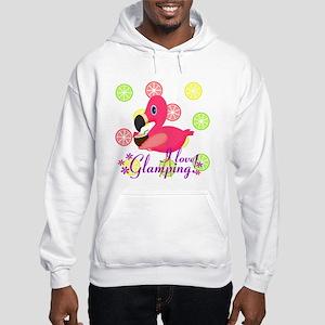 Glamping Flamingo Hoodie