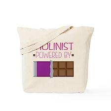 Violinist Chocolate Quote Tote Bag