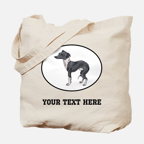 Custom Italian Greyhound Tote Bag