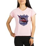 USS HALIBUT Performance Dry T-Shirt