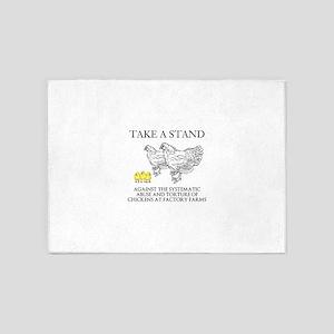 Take A Stand 5'x7'Area Rug