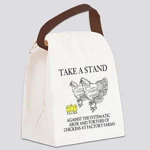 Take A Stand Canvas Lunch Bag