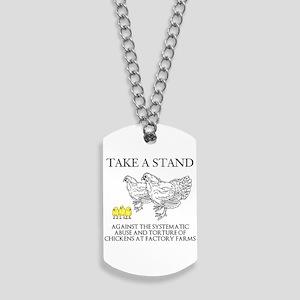 Take A Stand Dog Tags
