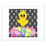 Easter Chick on Damask Posters