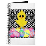 Easter Chick on Damask Journal
