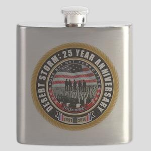 Desert Storm 25 Flask