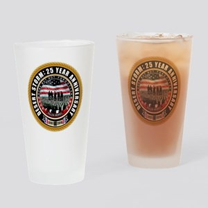 Desert Storm 25 Drinking Glass