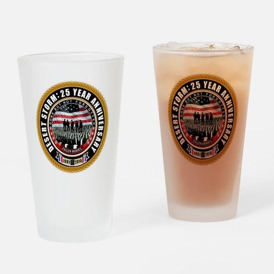 Desert Storm 25 Drinking Glass