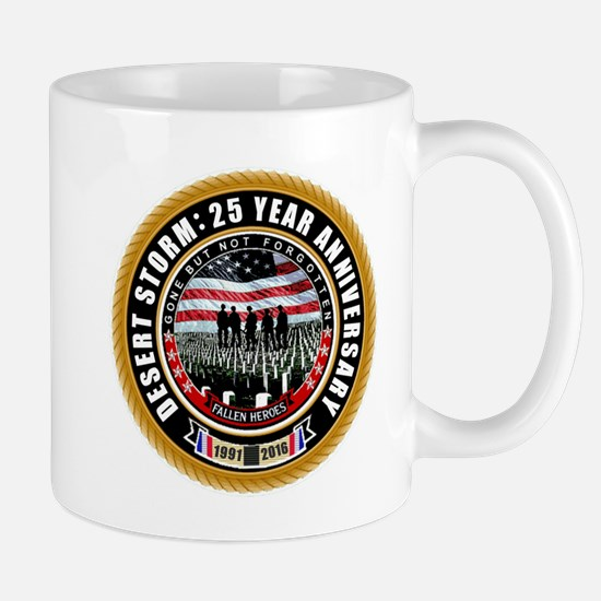 Desert Storm 25 Mugs
