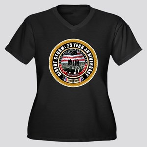 Desert Storm 25 Plus Size T-Shirt