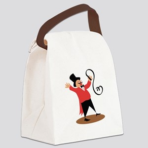 Circus Ringmaster Canvas Lunch Bag