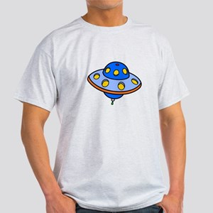 Cartoon UFO Flying Saucer T-Shirt