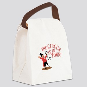 Ringmaster Town Canvas Lunch Bag