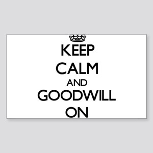 Keep Calm and Goodwill ON Sticker