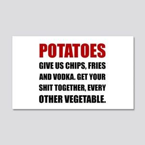 Potatoes Give Us Wall Decal