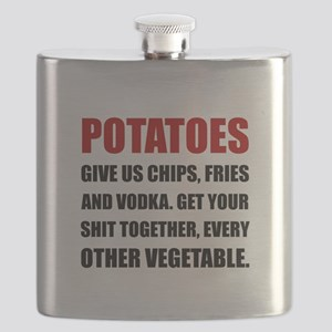 Potatoes Give Us Flask