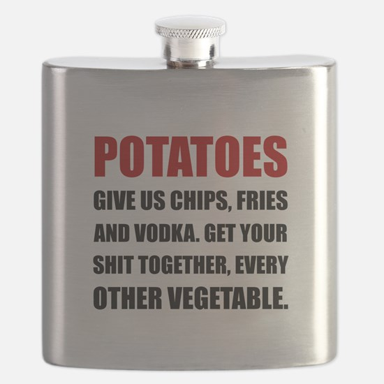 Potatoes Give Us Flask