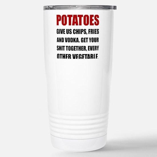 Potatoes Give Us Travel Mug