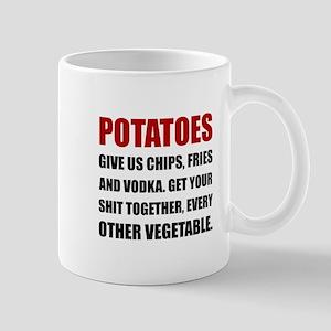 Potatoes Give Us Mugs