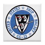 USS HALSEY Tile Coaster
