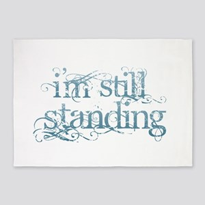 I'm Still Standing 5'x7'Area Rug