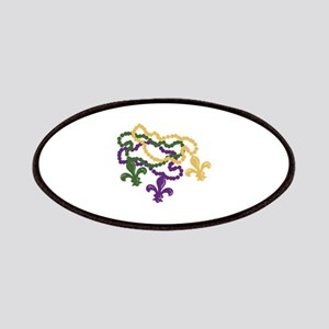 Mardi Gras Beads Patch