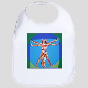 Vitruvian Man Bib