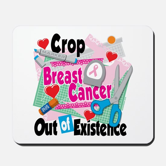 Breast Cancer Scrapbooking Mousepad