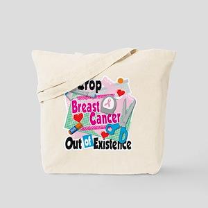 Breast Cancer Scrapbooking Tote Bag