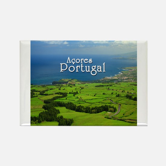 Cute Azores Rectangle Magnet