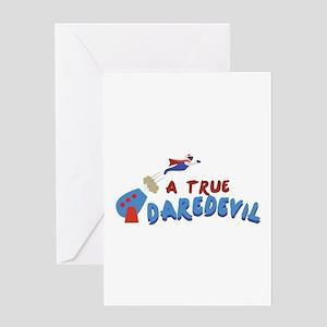 True Daredevil Greeting Cards