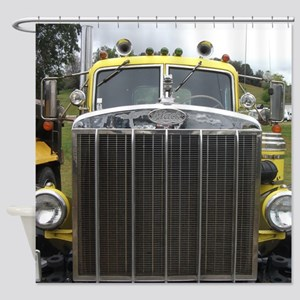Mack Truck Shower Curtain