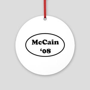 McCain '08 Ornament (Round)