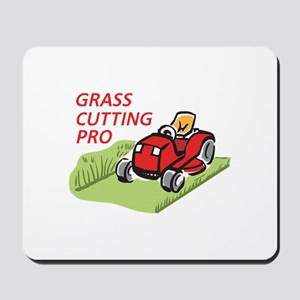 GRASS CUTTING PRO Mousepad