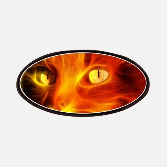 Fiery Cat Patch