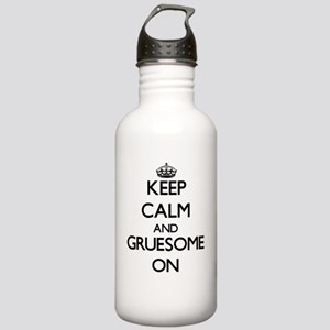 Keep Calm and Gruesome Stainless Water Bottle 1.0L