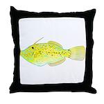 Scrawled Filefish Throw Pillow