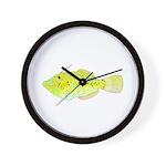 Scrawled Filefish Wall Clock