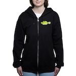 Scrawled Filefish Women's Zip Hoodie