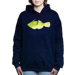 Scrawled Filefish Women's Hooded Sweatshirt