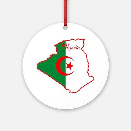 Cool Algeria Ornament (Round)