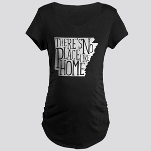 There's No Place Like Home  Maternity Dark T-Shirt