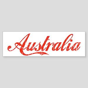 Vintage Australia Bumper Sticker